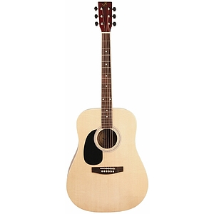 J. Reynolds 70 Left Handed Dreadnought Guitar - Natural