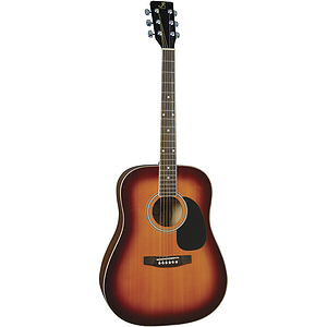 J. Reynolds Dreadnought Acoustic Guitar - Antique Burst
