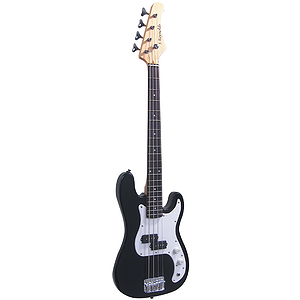 J. Reynolds 7/8 Size Electric Bass - Black Finish