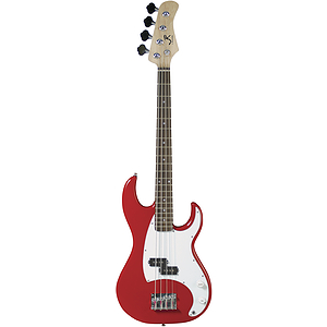 J. Reynolds 7/8 Size Electric Bass - Red Finish