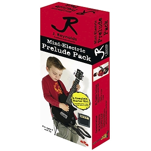 J. Reynolds Children's Electric Guitar Prelude Package - Jet Black