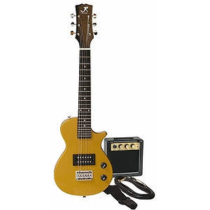 J. Reynolds Children&#039;s Electric Guitar Prelude Package - Gold Rush