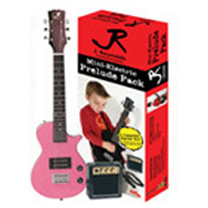 J. Reynolds Children's Electric Guitar Package - Pop Princess Pink