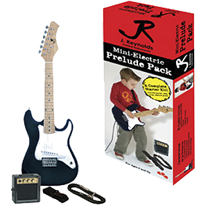 J. Reynolds Children's Electric Guitar Prelude Package - Beautiful Black