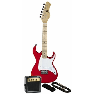 J. Reynolds Children's Electric Guitar Prelude Package - Rockin' Red