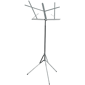 Chrome-plated folding music stand - standard