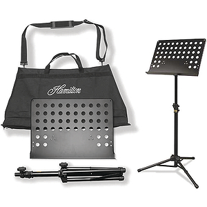 Hamilton KB90 Traveler II Portable Music Stand and Carrying Bag