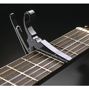 Kyser Quick-Change Capo - 6-string Acoustic - Black