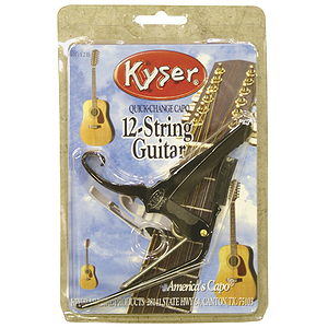 Kyser Quick-Change Capo - 12-string Acoustic