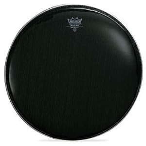 Remo Black Max Ebony Marching Snare Drum Batter Head - 13""