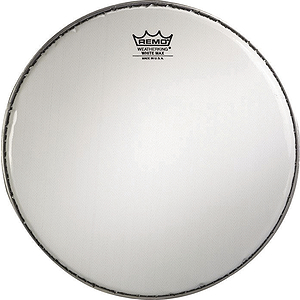 Remo White Max Marching Snare Drum Batter Head - 14&quot;