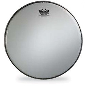 "Remo White Max Marching Snare Drum Batter Head - 14"" w/Mylar Underlay"
