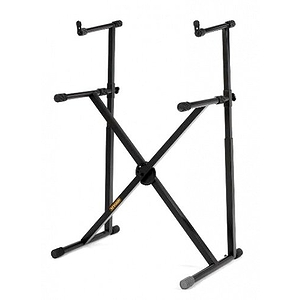 Hercules Double Tier X Keyboard Stand