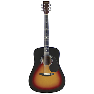Lauren Beginner Dreadnought Guitar - Sunburst