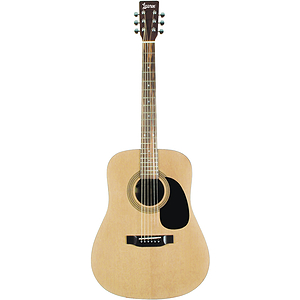 Lauren LA125N Dreadnought Acoustic Guitar - Natural