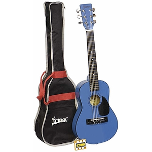 Lauren 30&quot; Student Guitar Package - Metallic Blue