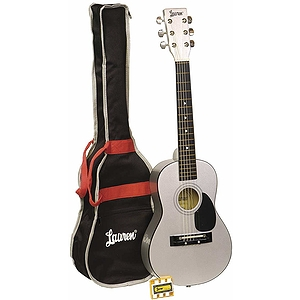 "Lauren 30"" Student Guitar Package - Metallic Silver"