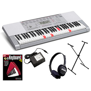 CASIO LK-280 61-Key Lighted USB Keyboard with MP3 Connection, SD Card