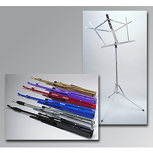 Lauren Student Folding Music Stand - Purple