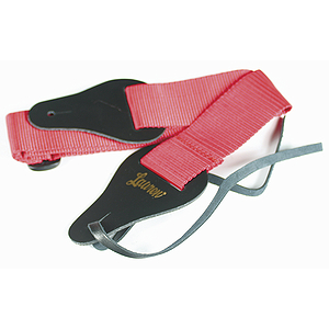 Lauren Adjustable Nylon Guitar Strap - Red