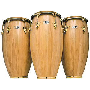 "Latin Percussion LP522X-AWC 11"" Classic Quinto Conga - Natural/Chrome"