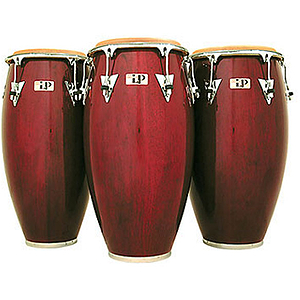 "Latin Percussion LP522X-DW 11"" Classic Quinto Conga - Dark Wood/Chrome"
