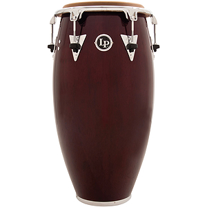 "LP Latin Percussion Classic Top Tuning 11 3/4"" Quinto - Dark Wood w/ Chrome Hardware"