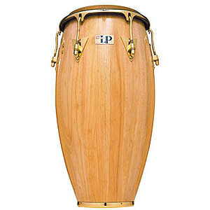 "Latin Percussion LP559X-AW Classic 11 3/4"" Conga - Natural/Gold"