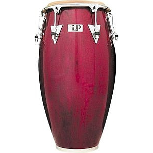 "Latin Percussion LP559X-DW Classic 11 3/4"" Conga - Dark Wood/Chrome"