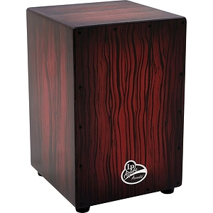 Latin Percussion LPA1332-DWS Aspire Cajon - Dark Wood Streak