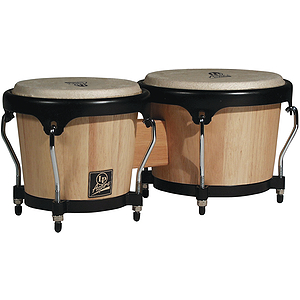 Latin Percussion LPA601-AW Aspire Wood Bongos - Natural