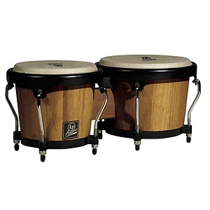 Latin Percussion LPA601-RW Aspire Wood Bongos - Red Wood