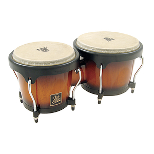 Latin Percussion LPA601-VSB Aspire Wood Bongos - Sunburst