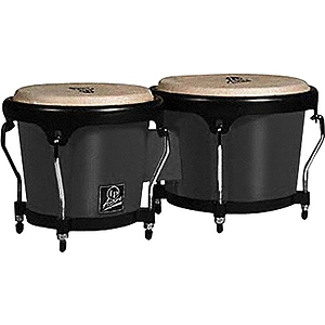 Latin Percussion LPA601F-BK Aspire Fiberglass Bongos - Black