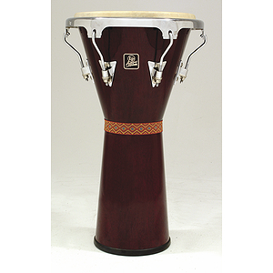 Latin Percussion Tunable Djembe - Dark Wood finish