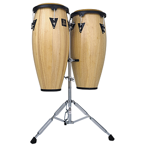Latin Percussion Aspire Wood Conga Set - Natural Finish