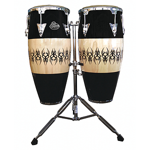 Latin Percussion LPA646-SCC Aspire Conga Set - Scarab Finish