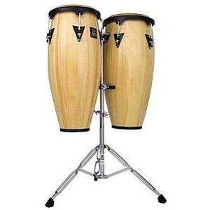 Latin Percussion LPA647-AW Aspire Wood Conga Set - Natural
