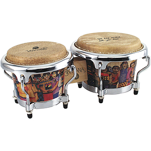 "Latin Percussion Santana ""Sacred Fire"" Mini Tunable Bongos"