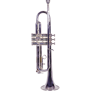 Lauren Beginner Trumpet Outfit - Silver-plated