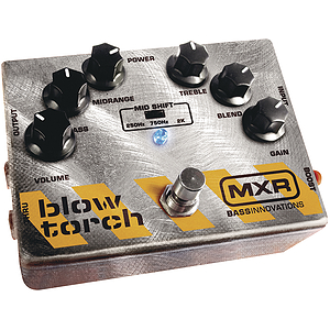 Dunlop M181 MXR Bass Blowtorch Bass Overdrive Effect Pedal