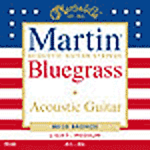 Martin 80/20 Bronze Round Wound Bluegrass Acoustic Strings  - 3 sets of strings