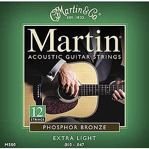 Martin 12-String Phosphor Bronze Acoustic Strings - 3 sets of strings