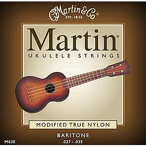 Martin Baritone Ukelele Strings - 3 sets of strings