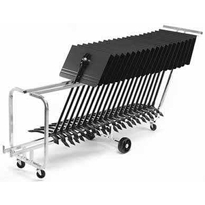 Manhasset Rack &#039;n Roll Music Stand Cart