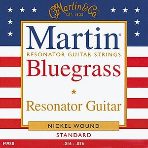 Martin Resonator Guitar Strings - 3 Sets