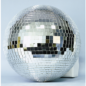 "MBT Mirror Ball - 12"" Glass Ball"