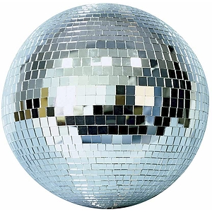 "MBT Mirror Ball - 8"" Glass Ball"