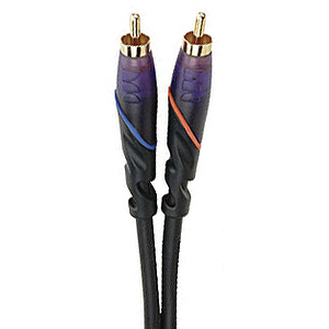 Monster DJ Cables - 1 meter/pair RCA to RCA