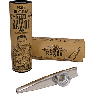 Clarke Silver Metal Kazoos - Box of 20 (MKSD)